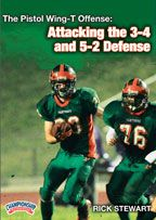 The Pistol Wing-T Offense: Attacking the 3-4 and 5-2 Defenses