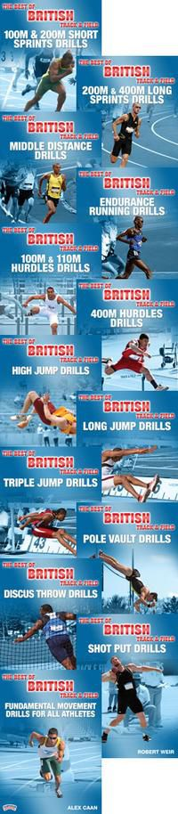 The Best of British Track & Field Drills Series